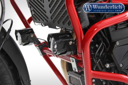 Wunderlich LED additional head light ATON for tank protection – black