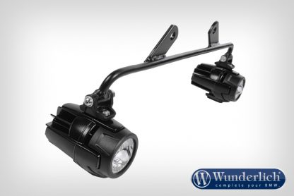 Mounting Bracket auxiliary lamps for Wunderlich tank protection bar  black