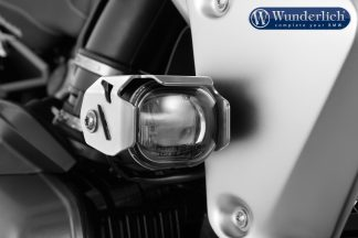 Wunderlich MICROFLOOTER LED auxiliary headlight – silver