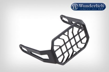 Protective grate for auxiliary Microflooter headlights  black