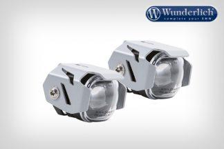 LED additional headlight for bracket / tube mounting – SILVER