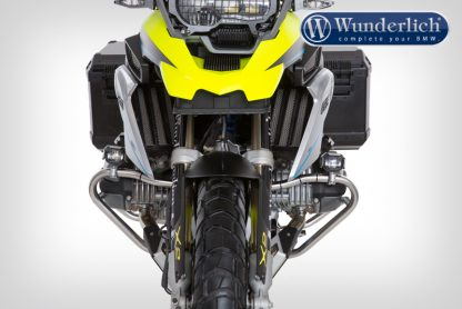 Wunderlich Micro Flooter LED auxiliary headlight  crash bar mounting  silver