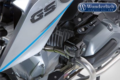 Wunderlich Micro Flooter LED auxiliary headlight  crash bar mounting  black
