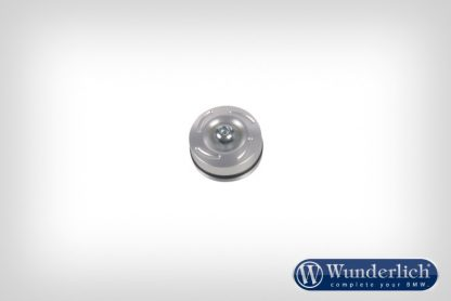 Rear engine mounting cap – silver