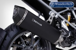 Remus Black Hawk end muffler (Euro 4) – black
