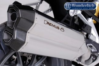 Remus 8 R 1200 GS LC stainless steel (Euro4) – stainless steel
