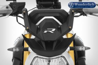 "Mounting bracket for the ""R-MARATHON"" windshield for the BMW R 1250 R – black"