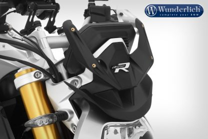 """Mounting bracket for the """"R-MARATHON"""" windshield for the BMW R 1250 R – black"""
