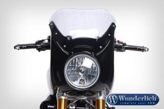 "Wunderlich ""Daytona"" R nineT cockpit fairing 2017+ – Black Storm Metallic"