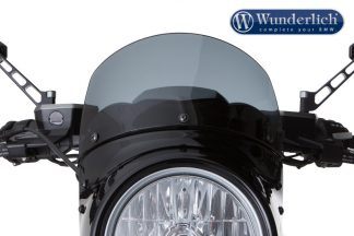 Wunderlich VINTAGE windshield for VINTAGE TT light screen – smoked grey