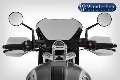 "Wunderlich ""Daytona"" R nineT Scrambler cockpit fairing – Monolith metallic matt"