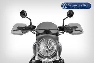 """Wunderlich """"VINTAGE TT"""" light screen R nineT Scrambler – Monolith metallic matt"""