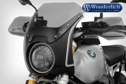 "Wunderlich ""Daytona"" R nineT cockpit fairing – black-white"
