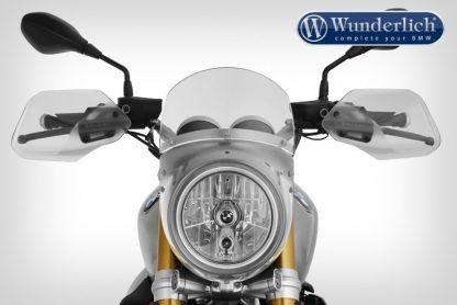"""Wunderlich """"VINTAGE TT"""" windshield for VINTAGE R nineT – silver"""