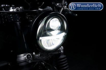 BI-LED main headlight use