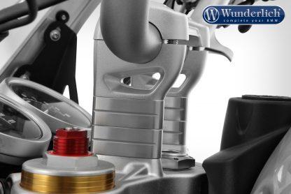 Wunderlich handlebar riser – 40mm – silver