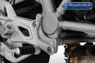 Wunderlich Driver footrest lowering – 20mm – silver