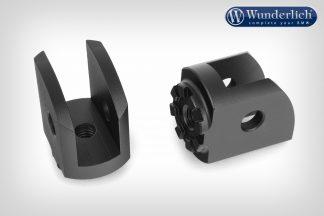 Wunderlich Vario joint passenger EVO1 (pair) – black