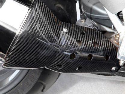 Exhaust heat shield – carbon
