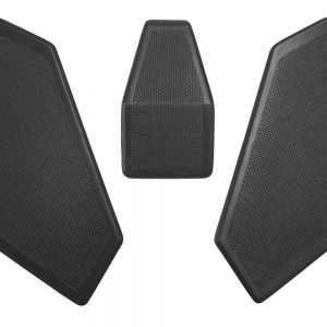 Wunderlich tank protection pad Touring – 3 pieces – black