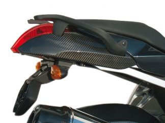 Tail cover with grab rails – Carbon