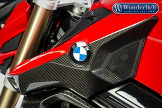 Intake pipe cover carbon F 800 R (2015-) – left – carbon