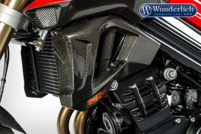 Water cooler protection F 800 R 2015 – left – carbon