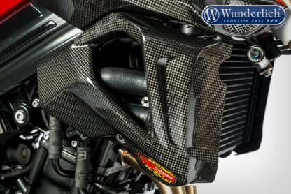 Water cooler protection F 800 R 2015 – right – carbon