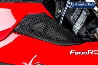 Intake pipe cover top F 800 R 2015 – right – carbon