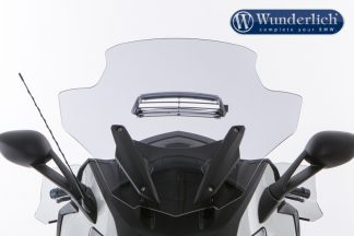 Windscreen K 1600 with ventilation – smoked grey