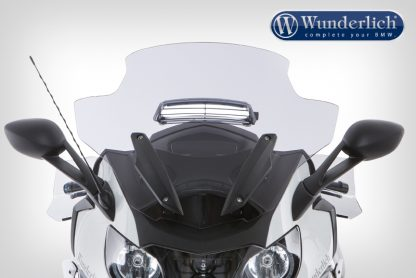 Windscreen K 1600 with ventilation – smoked grey