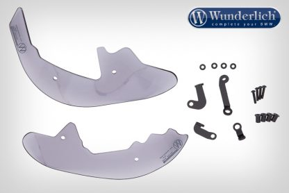 Wunderlich Foot protectors CLEAR-PROTECT – smoked grey