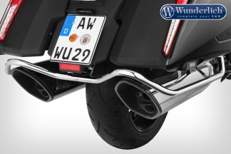 Wunderlich case protection bar – chromed