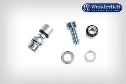 Original handle bar end seal adapter – silver