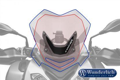 Wunderlich Windscreen SPORT – smoked grey