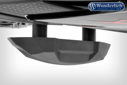 Wunderlich crash pads RACING – black-titanium