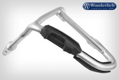 Wunderlich crash bar slide pad (pair) – 25mm – black