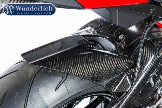 Rear interior mudguard- carbon