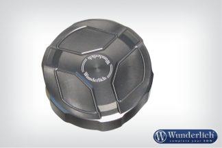 Brake reservoir aluminum cover rear  titanium
