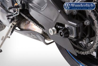Rear stand spools (Set) Aluminium – silver