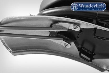 Wunderlich Retro-Sport R nineT number plate holder – stainless steel