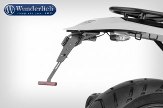 Enduro licence plate holder for Enduro rear conversion – black