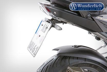 Signal bracket license plate holder for original blinker