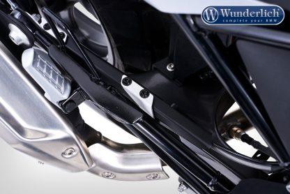 Wunderlich brake line protection G 310 – black-silver