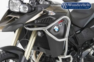 Hepco & Becker tank protection bar – stainless steel F800GS Adventure 2013-