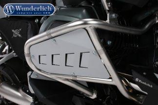 Wunderlich Rock Guard Set for Original BMW Engine Protection Bars.  silver