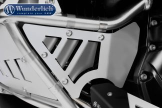 Wunderlich Rock Guard Set for Original BMW Engine Protection Bars.  black
