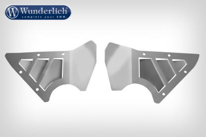 Wunderlich Rock Guard Set for Original BMW Engine Protection Bars.  silver