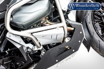 Wunderlich rock guard set for original BMW crash bars – silver