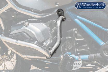 Wunderlich reinforcement bar for the original engine protection bar – Set – silver